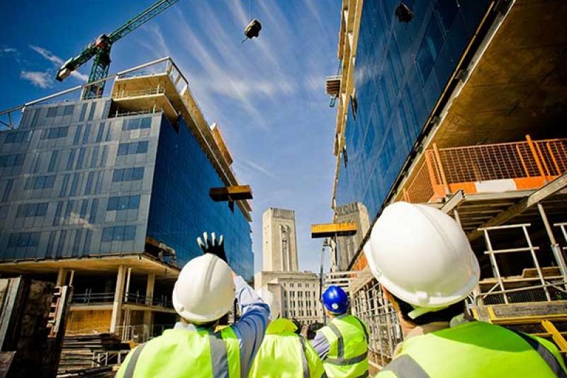 Строительство зданий: жилых домов, офисных зданий, магазинов